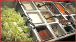 Terri's Fresh Salad & Homemade Soup Bar at Buddy's Clubhouse